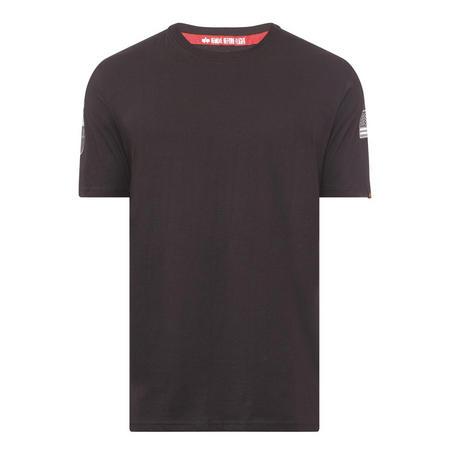 NASA Patch T-Shirt Black