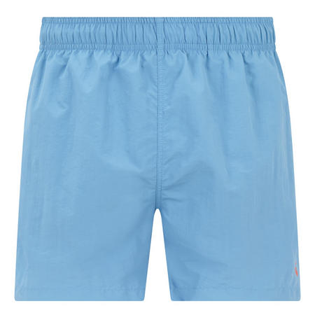 Basic Solid Swim Shorts Blue