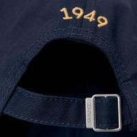 Contrast Logo Baseball Cap Navy