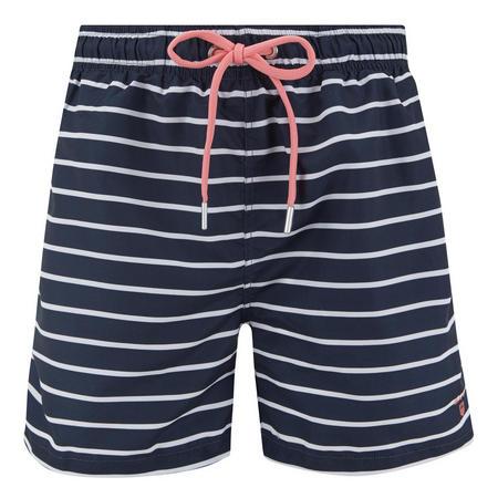 Breton Stripe Swim Shorts Navy