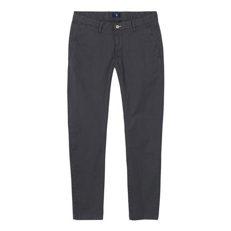 Slim Fit Sun Bleach Chinos Grey