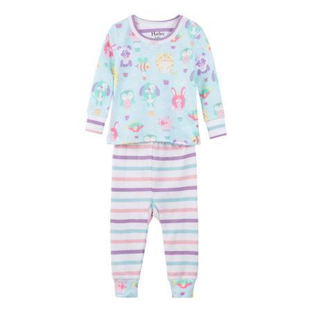 Babies Cartoon Animal Pyjamas Multicolour