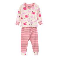 Babies Swan Pyjamas Pink