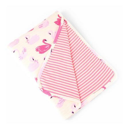 Swan Blanket Pink
