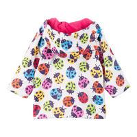 Babies Ladybird Coat Multicolour