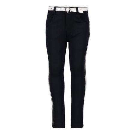 Stripe Leg Trousers Navy