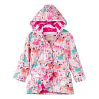 Girls Horse Coat Pink