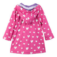 Girls Heart Jacket Pink