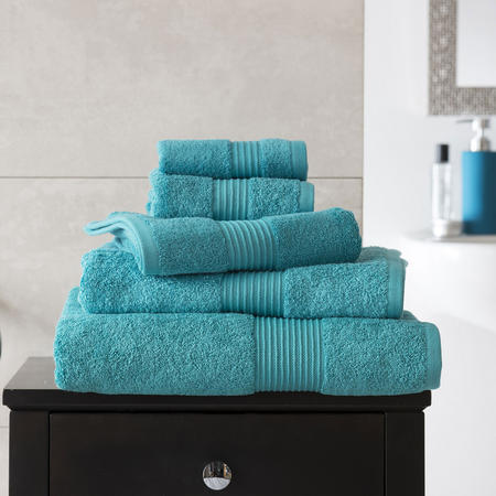 Deyong Bliss Towel Teal Green