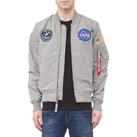 MA-1 NASA Reversible Bomber Jacket Grey