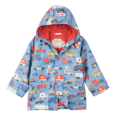 Boys Automobile Coat Blue
