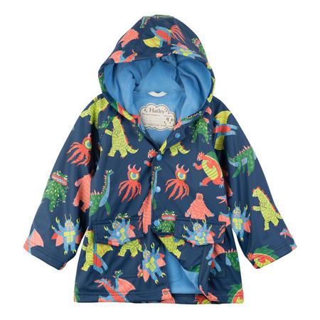 Boys Monster Coat Blue