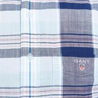 Madras Check Shirt Blue