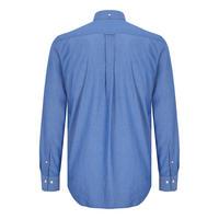 Regular Broadcloth Pinstripe Shirt Blue