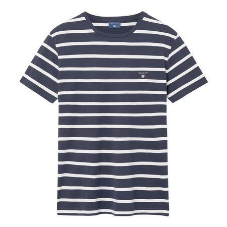 Breton Stripe T-Shirt Blue