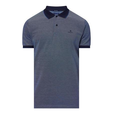 Four Colour Polo Shirt Blue