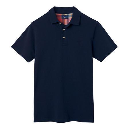 Classic Cotton Pique Polo Shirt Navy