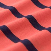 Breton Stripe T-Shirt Orange