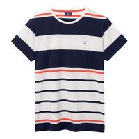 Multi-Stripe T-Shirt Orange