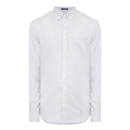 Eco Pinpoint Oxford Shirt Grey