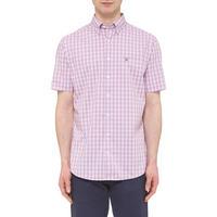 Broadcloth Check Shirt Pink