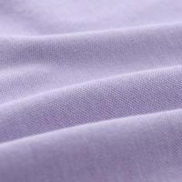 Short Sleeve Pique Polo Shirt Purple