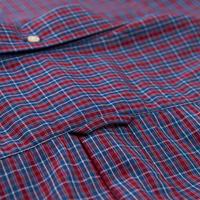 Indigo Check Long Sleeve Shirt Red