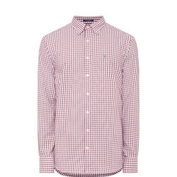 Tech Prep Oxford Gingham Shirt Multicolour