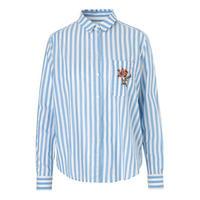 Joris Striped Shirt Blue