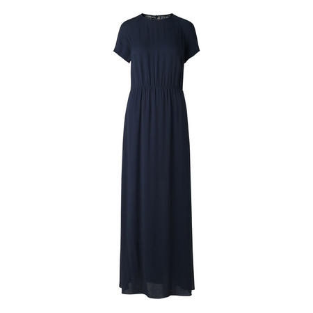 Reya Backless Maxi Dress Navy