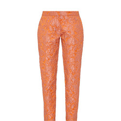 Cybill Suit  Trousers Orange