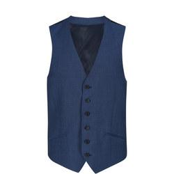 Tonic Waistcoat Blue