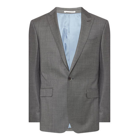 Sharkskin Blazer Grey