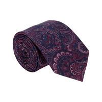 Paisley Pattern Tie Pink
