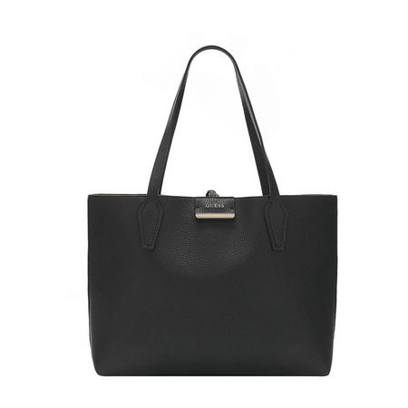 Bobbi Reversible Shopper Bag Black