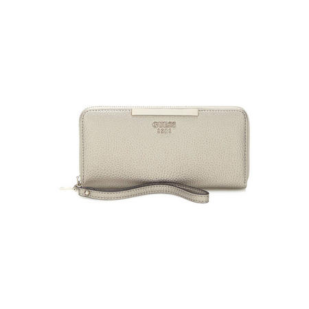 Lou Zip Around Wallet Metallic