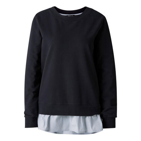 Two-Layer Sweat Top Navy