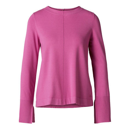 Boat Neck Sweater Pink
