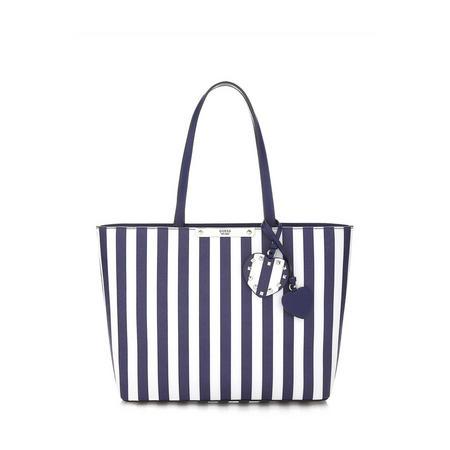 Britta Striped Shopper Bag Multicolour