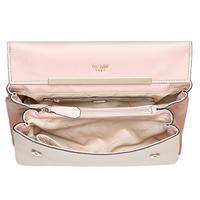 Lou Lou Colour Contrast Shoulder Bag Pink