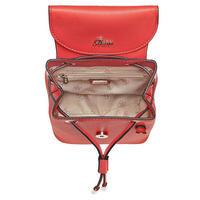 Varsity Fly Charm Crossbody Bag Red