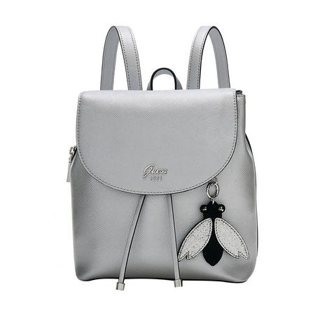 Fly Charm Backpack Silver-Tone