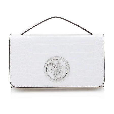 G Lux Clutch Bag White