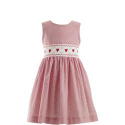 Strawberry Stripe Dress Red