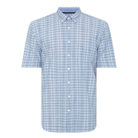 Check Shirt Blue