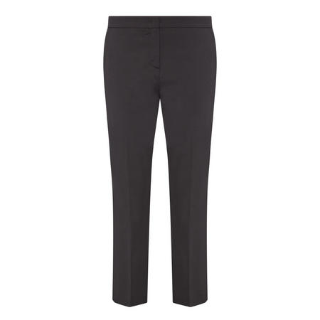 Parol Trousers Cropped Trousers Black