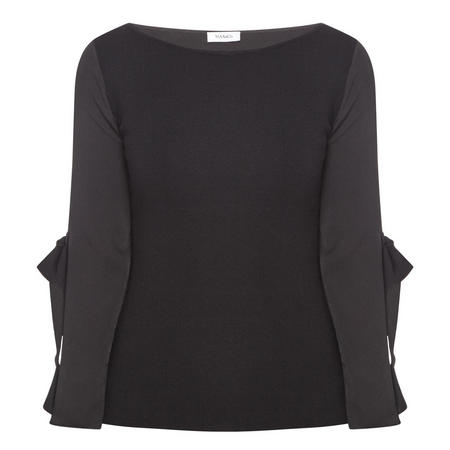 Porti Knitted Top Black