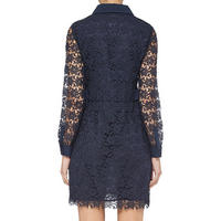 Carola Dress Navy