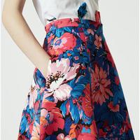 Panda Ottoman Corolla Skirt Multicolour