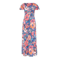 Ponte Maxi Dress Multicolour